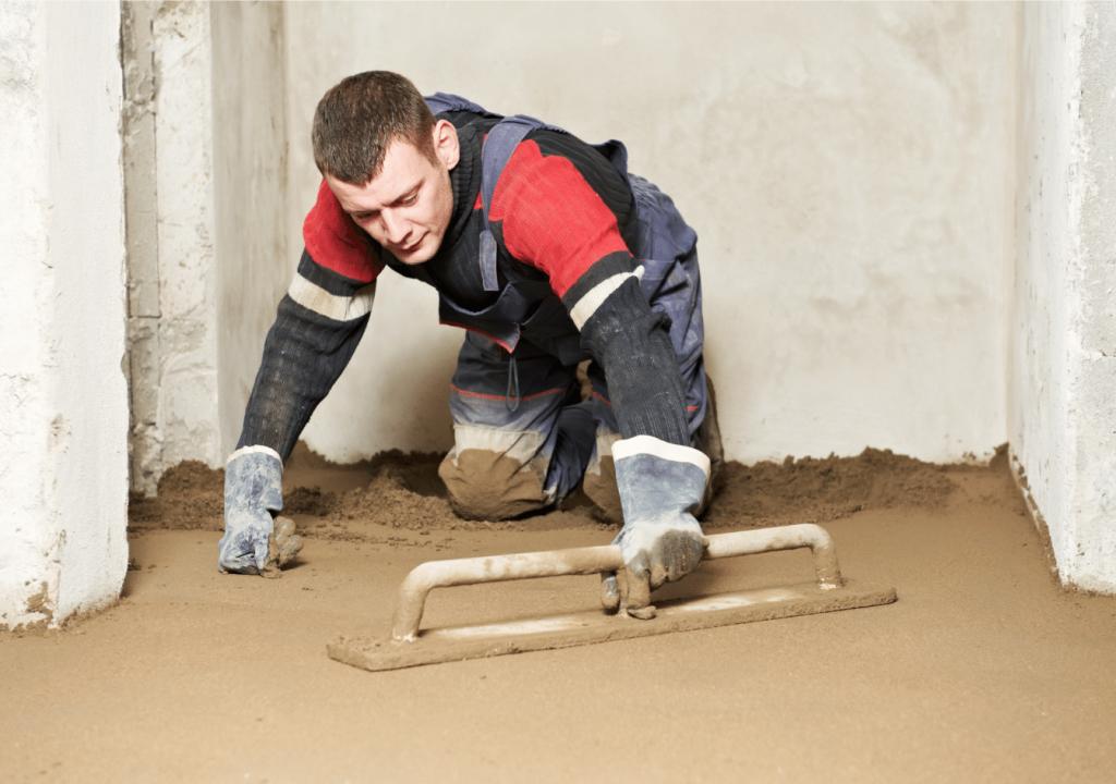 Concrete repair job in Portland
